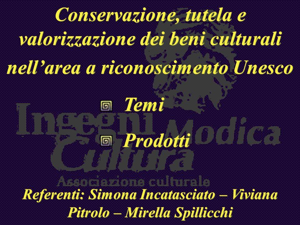 Referenti: Simona Incatasciato – Viviana Pitrolo – Mirella Spillicchi