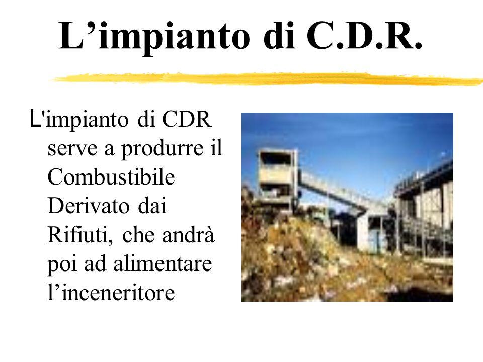L'impianto di C.D.R.