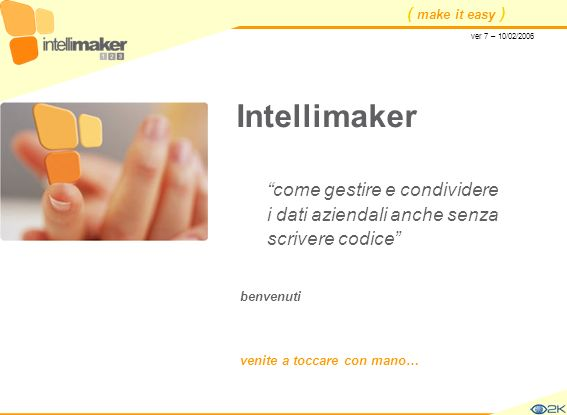 Intellimaker come gestire e condividere i dati aziendali anche senza