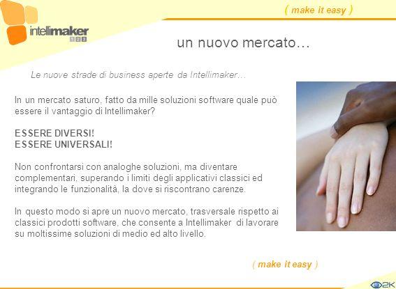 un nuovo mercato… Le nuove strade di business aperte da Intellimaker…