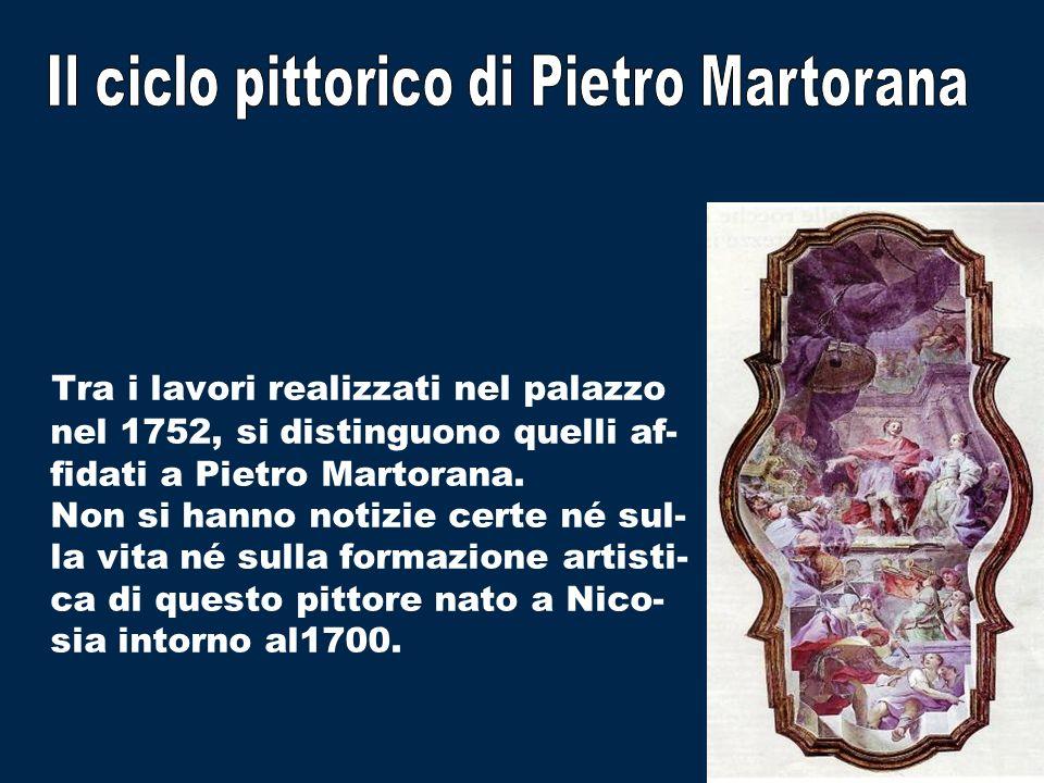 Il ciclo pittorico di Pietro Martorana