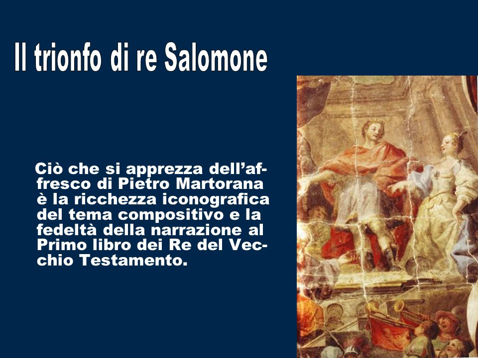 Il trionfo di re Salomone