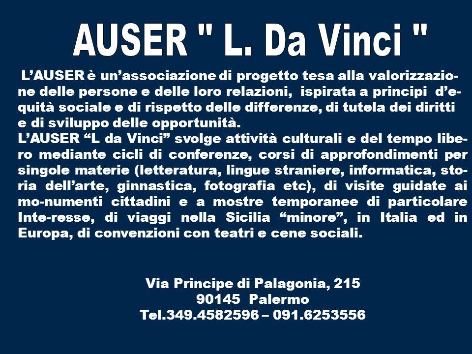 AUSER L. Da Vinci