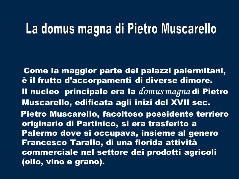 La domus magna di Pietro Muscarello