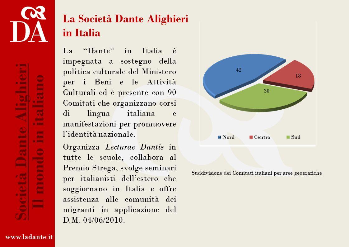 La Società Dante Alighieri in Italia