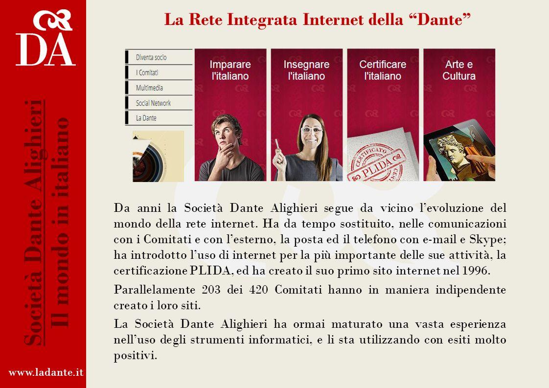 La Rete Integrata Internet della Dante