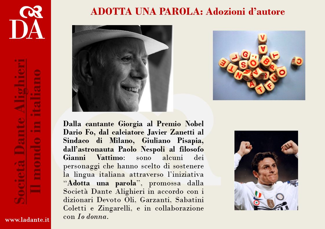 Società Dante Alighieri Il mondo in italiano
