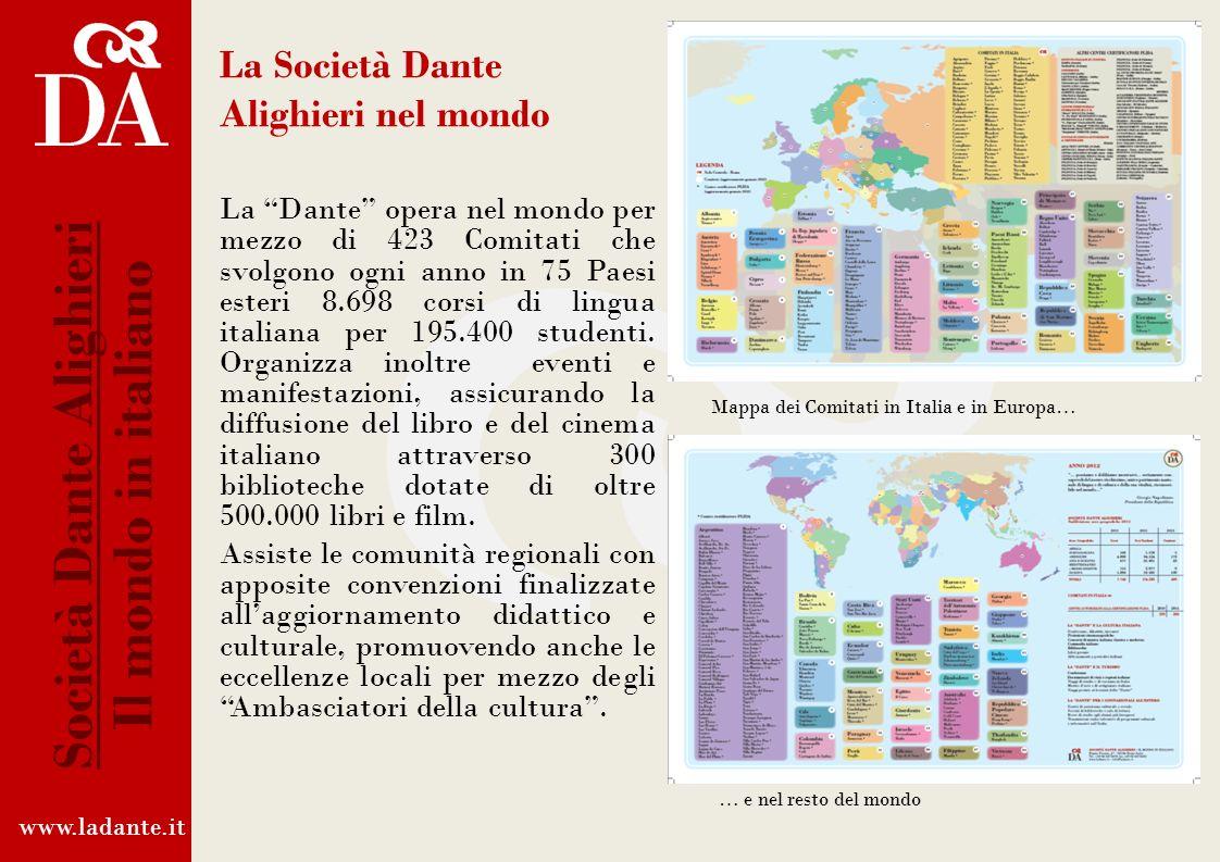La Società Dante Alighieri nel mondo