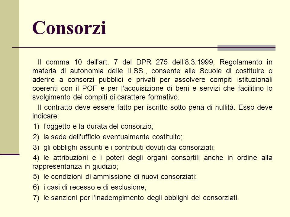 Consorzi