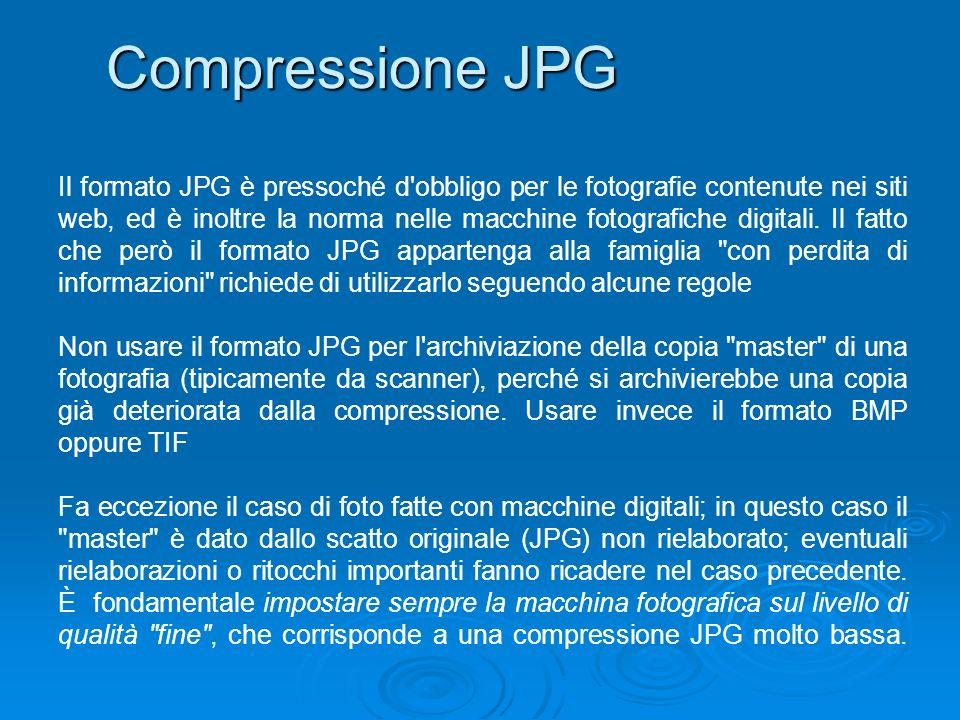 Compressione JPG