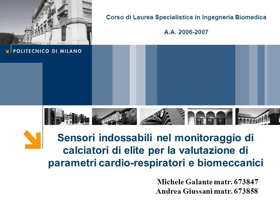 Michele Galante matr. 673847 Andrea Giussani matr. 673858