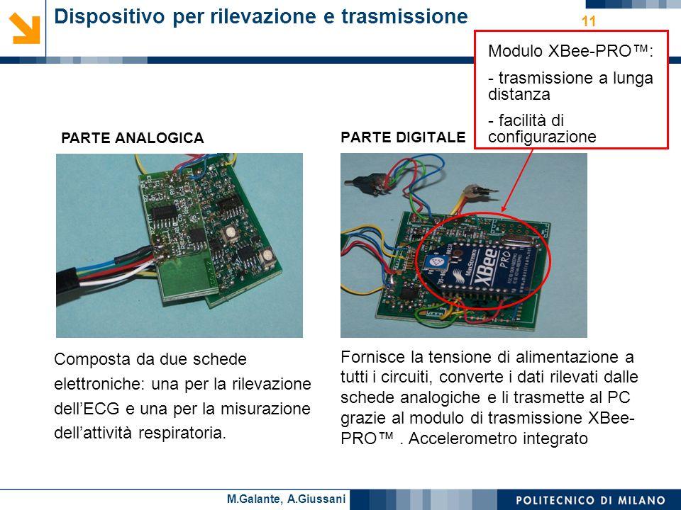 Dispositivo per rilevazione e trasmissione