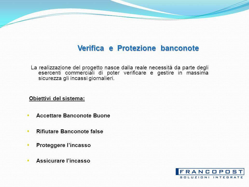 Verifica e Protezione banconote