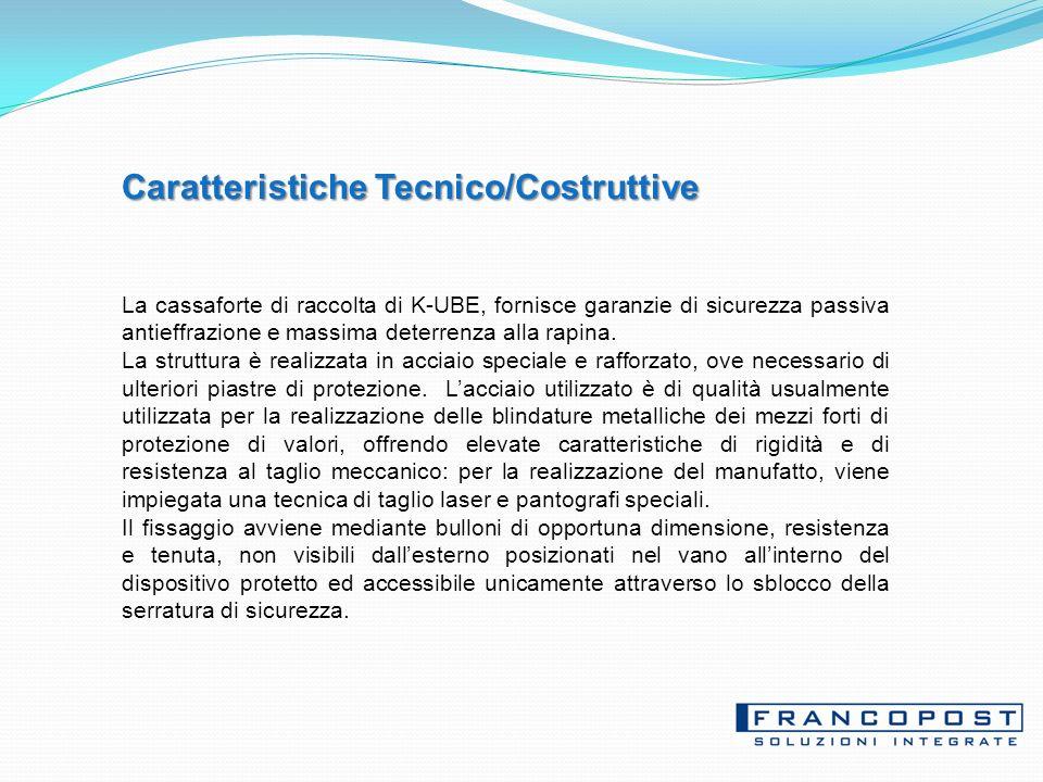 Caratteristiche Tecnico/Costruttive