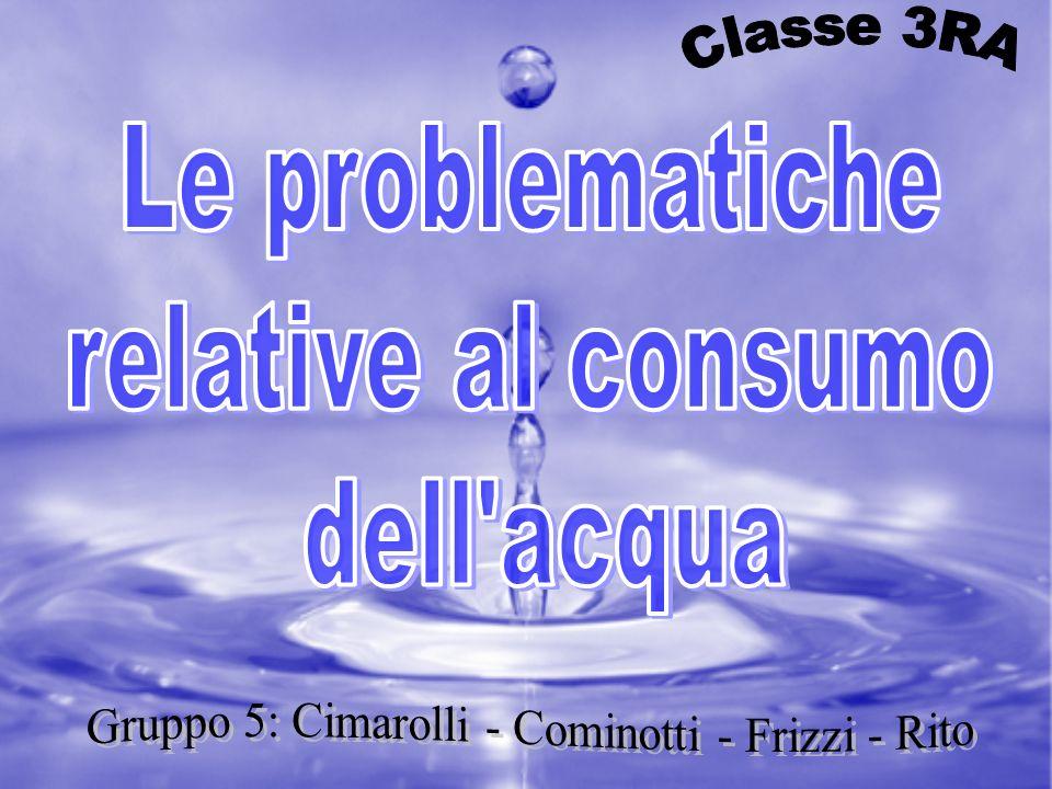 Gruppo 5: Cimarolli - Cominotti - Frizzi - Rito