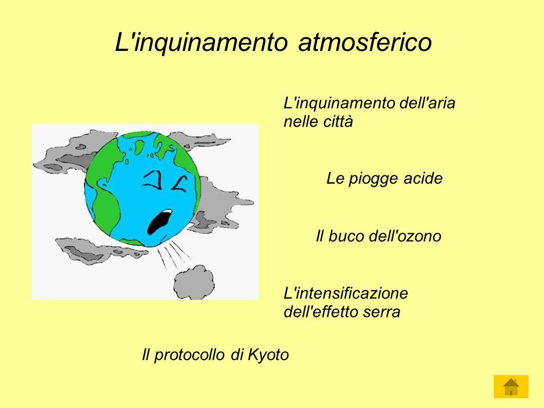 L inquinamento atmosferico