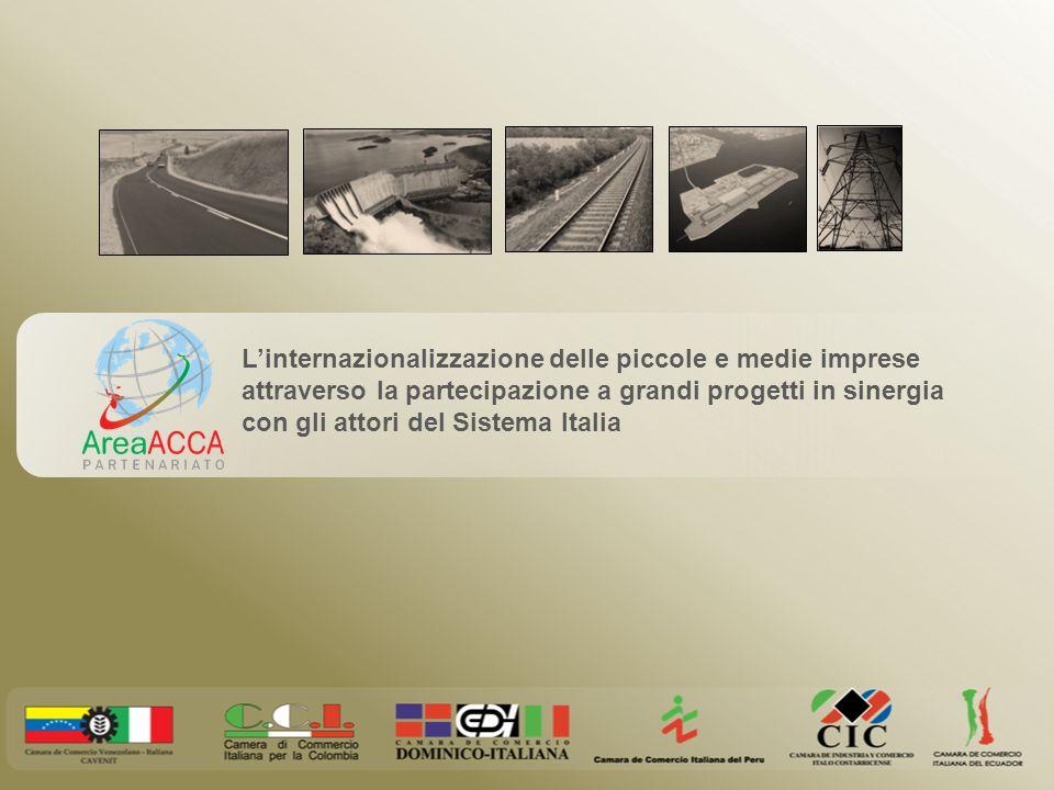 L'internazionalizzazione delle piccole e medie imprese attraverso la partecipazione a grandi progetti in sinergia con gli attori del Sistema Italia