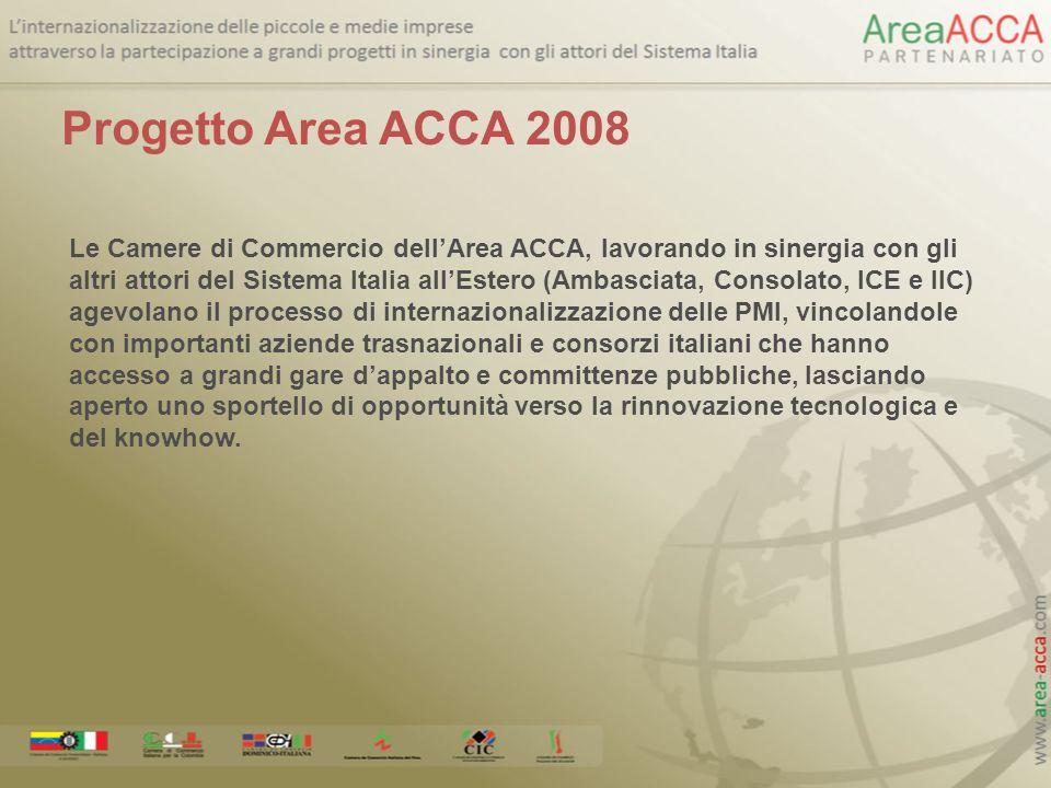 Progetto Area ACCA 2008