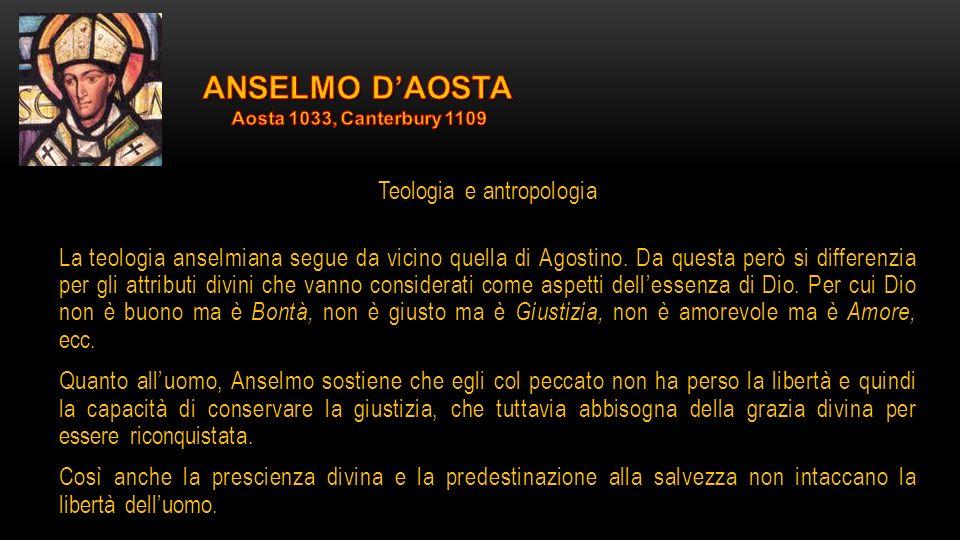 Teologia e antropologia