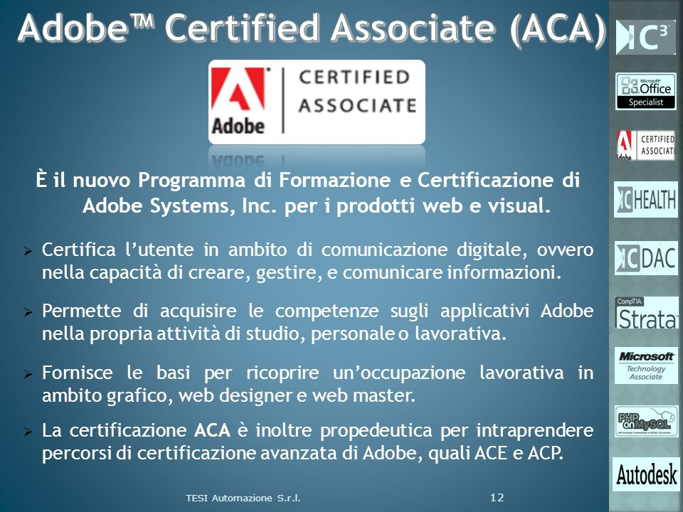 Adobe™ Certified Associate (ACA)