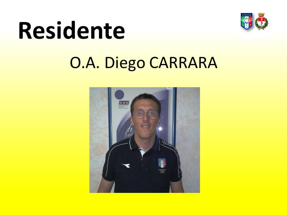 Residente O.A. Diego CARRARA