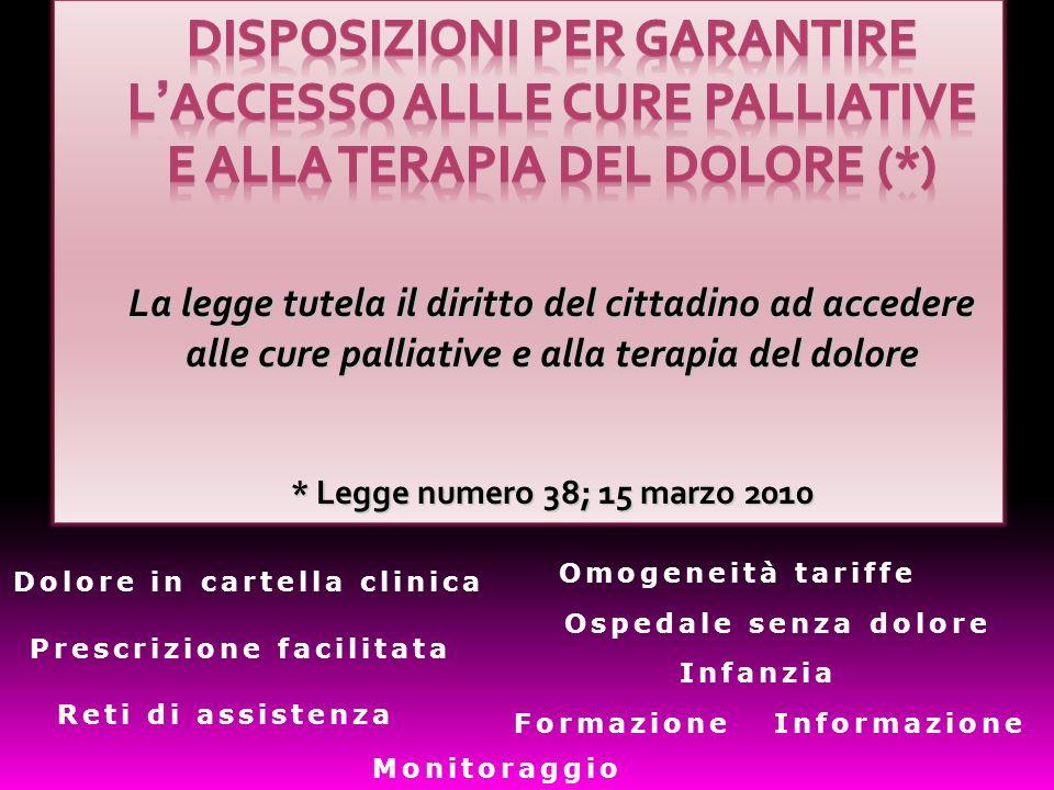Dolore in cartella clinica Prescrizione facilitata