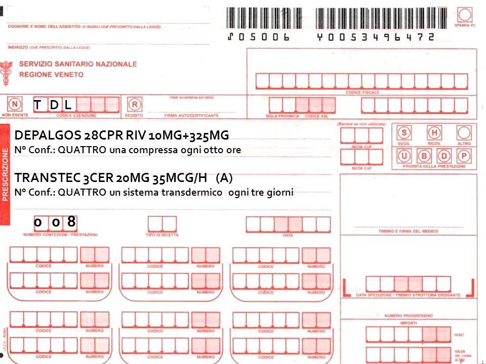 0 0 8 T D L DEPALGOS 28CPR RIV 10MG+325MG