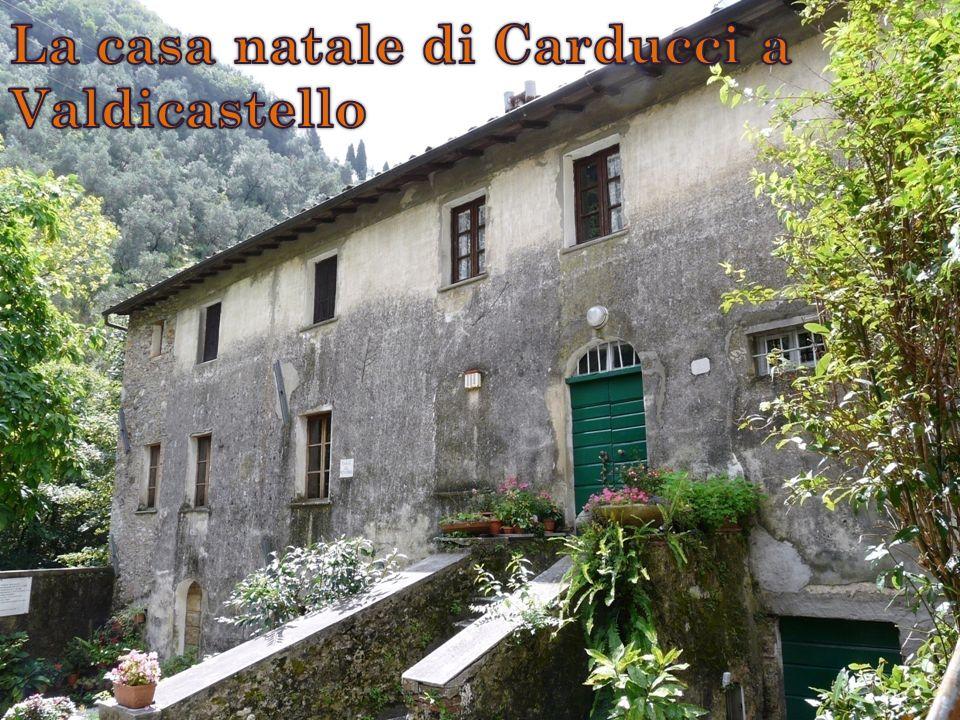 La casa natale di Carducci a Valdicastello