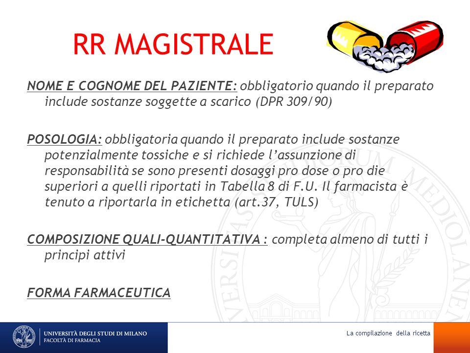 RR MAGISTRALE