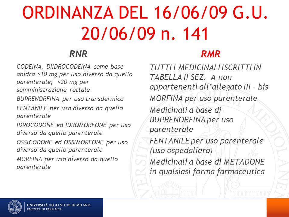 ORDINANZA DEL 16/06/09 G.U. 20/06/09 n. 141 RNR RMR