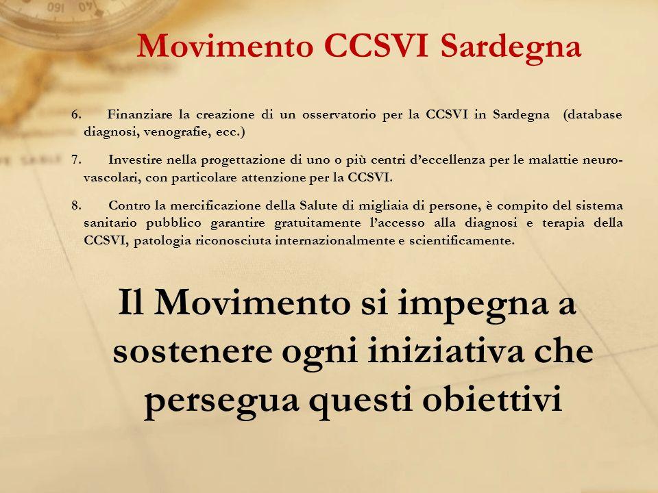 Movimento CCSVI Sardegna
