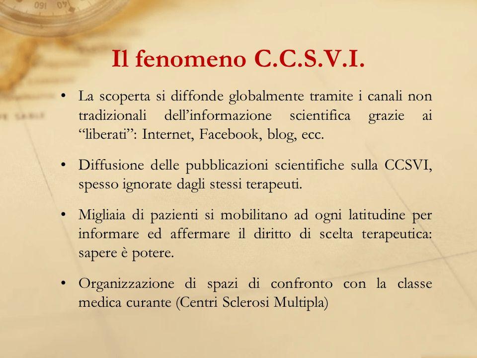 Il fenomeno C.C.S.V.I.