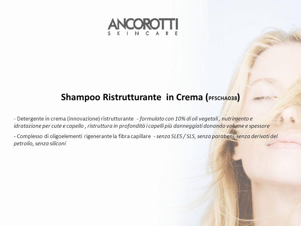 Shampoo Ristrutturante in Crema (PFSCHA038)