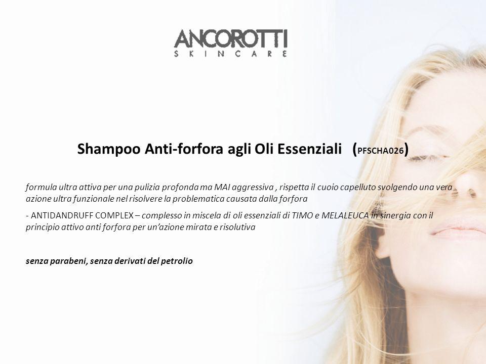 Shampoo Anti-forfora agli Oli Essenziali (PFSCHA026)