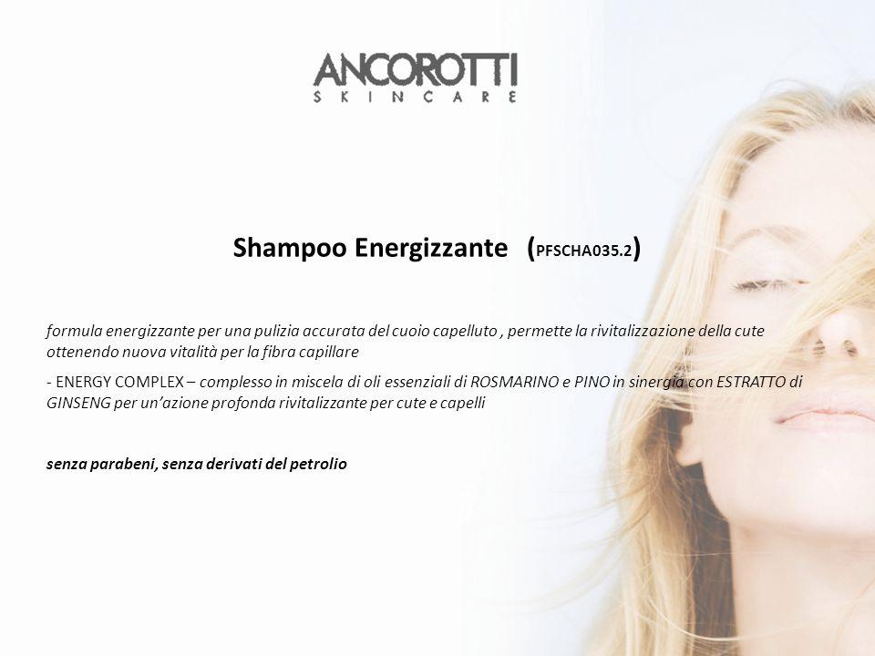 Shampoo Energizzante (PFSCHA035.2)