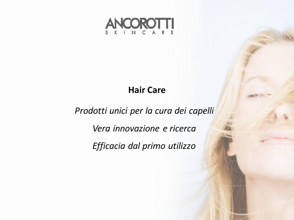 Prodotti unici per la cura dei capelli Vera innovazione e ricerca