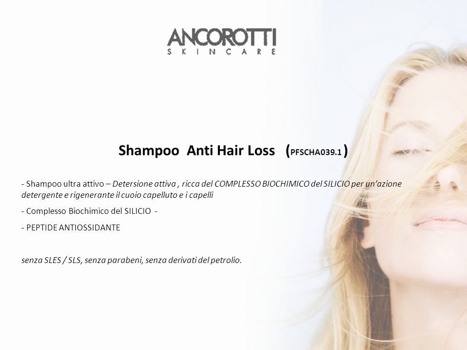 Shampoo Anti Hair Loss (PFSCHA039.1 )