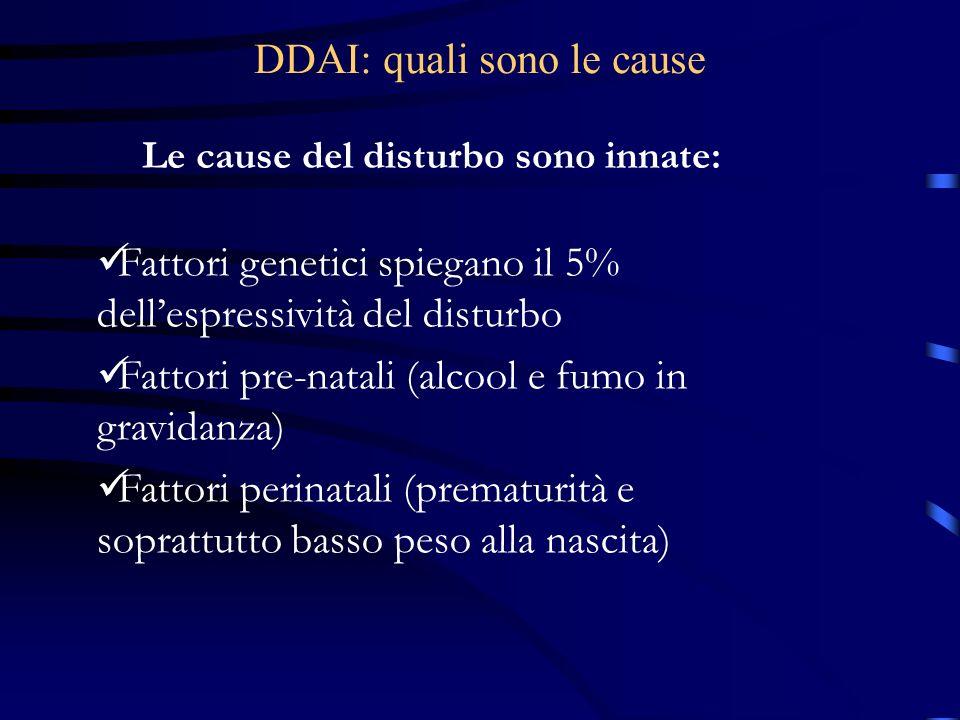 DDAI: quali sono le cause
