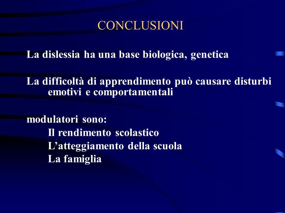 La dislessia ha una base biologica, genetica