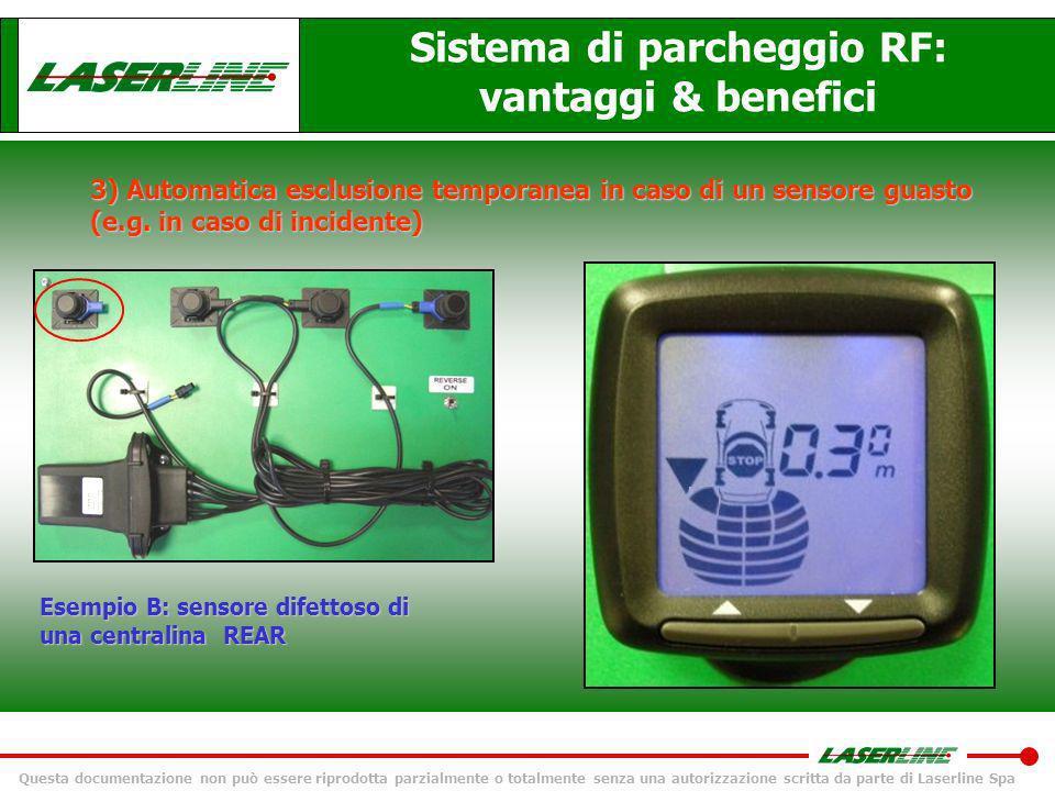 Sistema di parcheggio RF: vantaggi & benefici