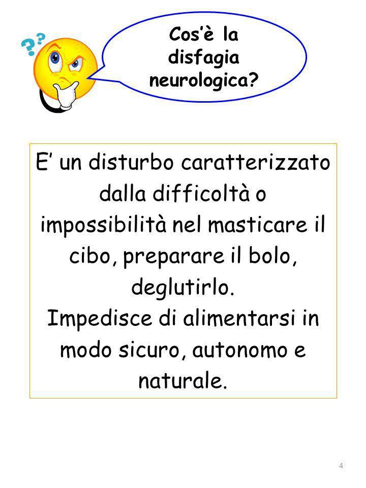 Cos'è la disfagia neurologica