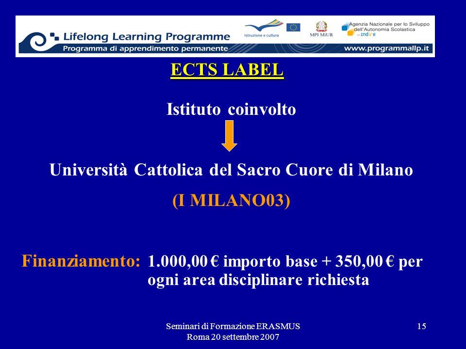 Università Cattolica del Sacro Cuore di Milano