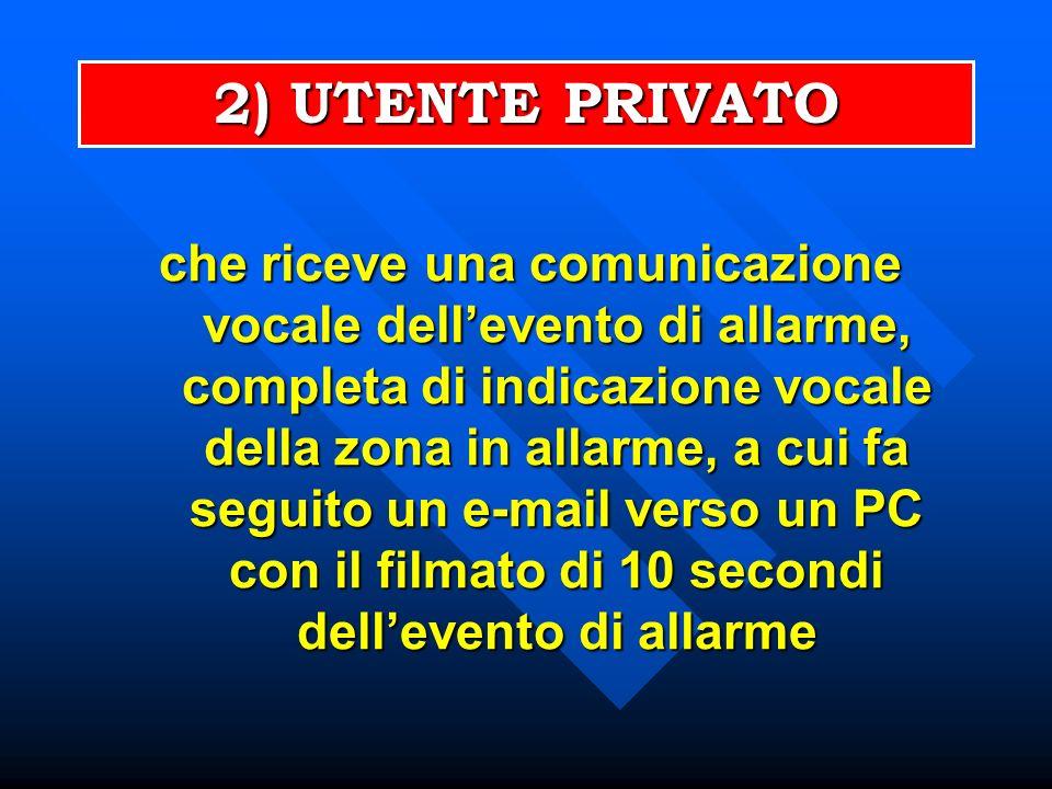 2) UTENTE PRIVATO