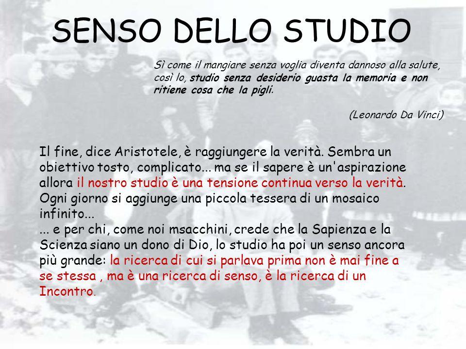SENSO DELLO STUDIO