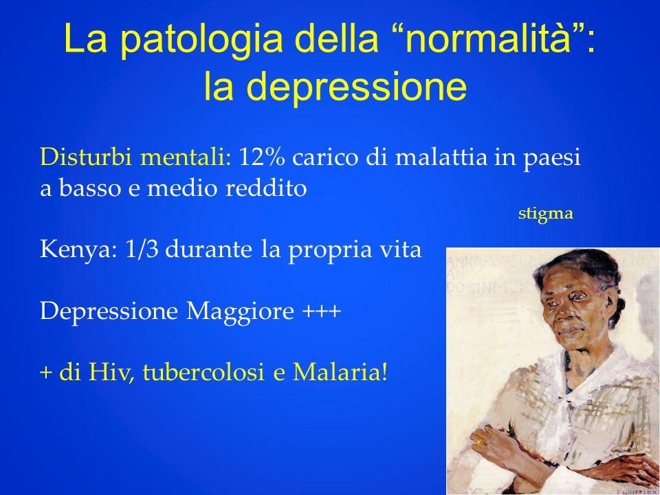 La patologia della normalità : la depressione