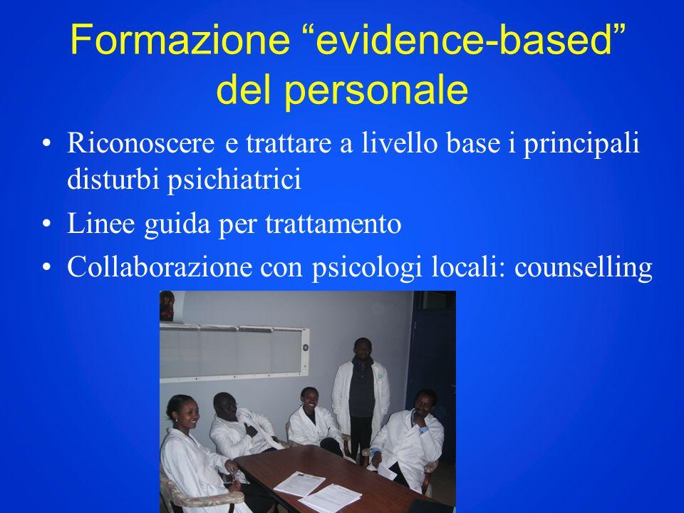 Formazione evidence-based del personale
