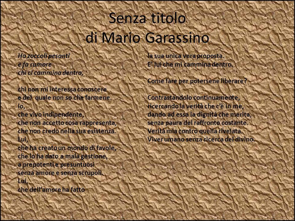 Senza titolo di Mario Garassino