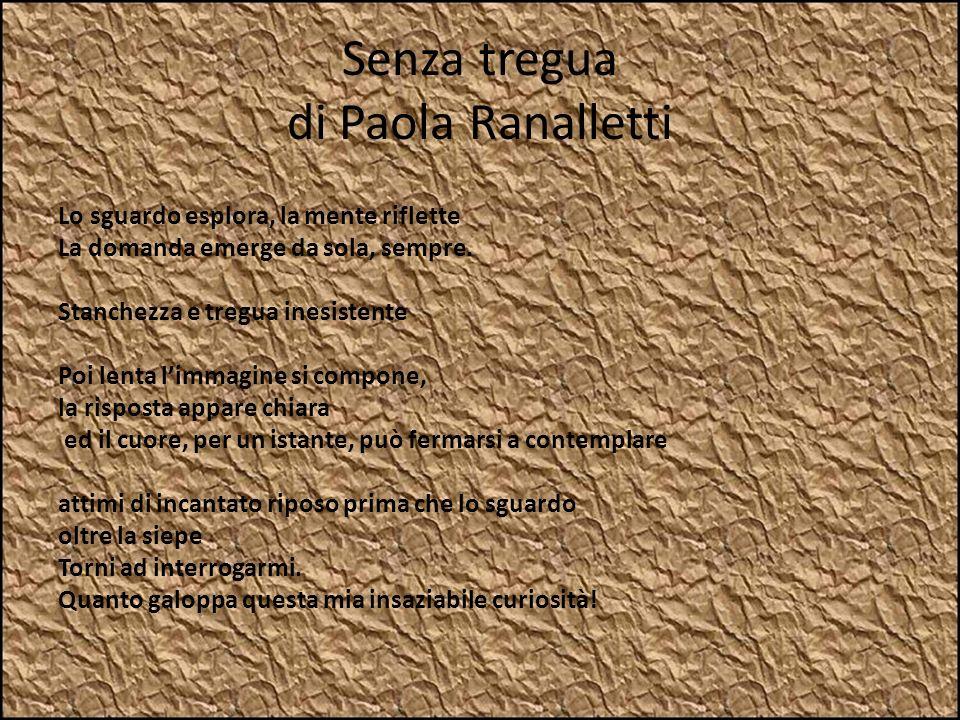 Senza tregua di Paola Ranalletti