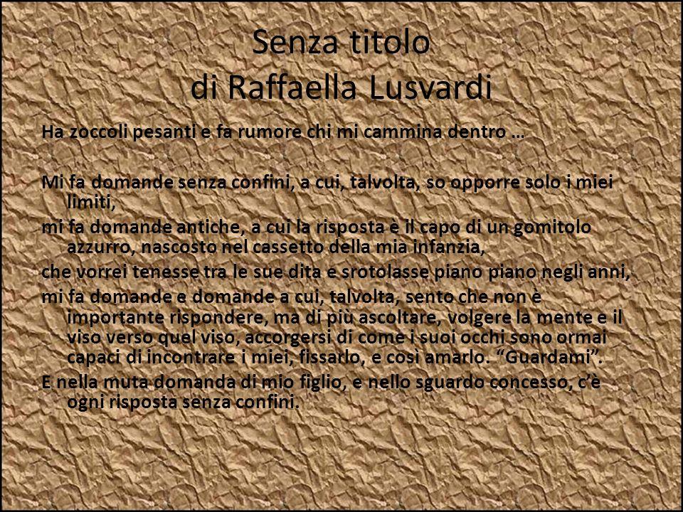 Senza titolo di Raffaella Lusvardi