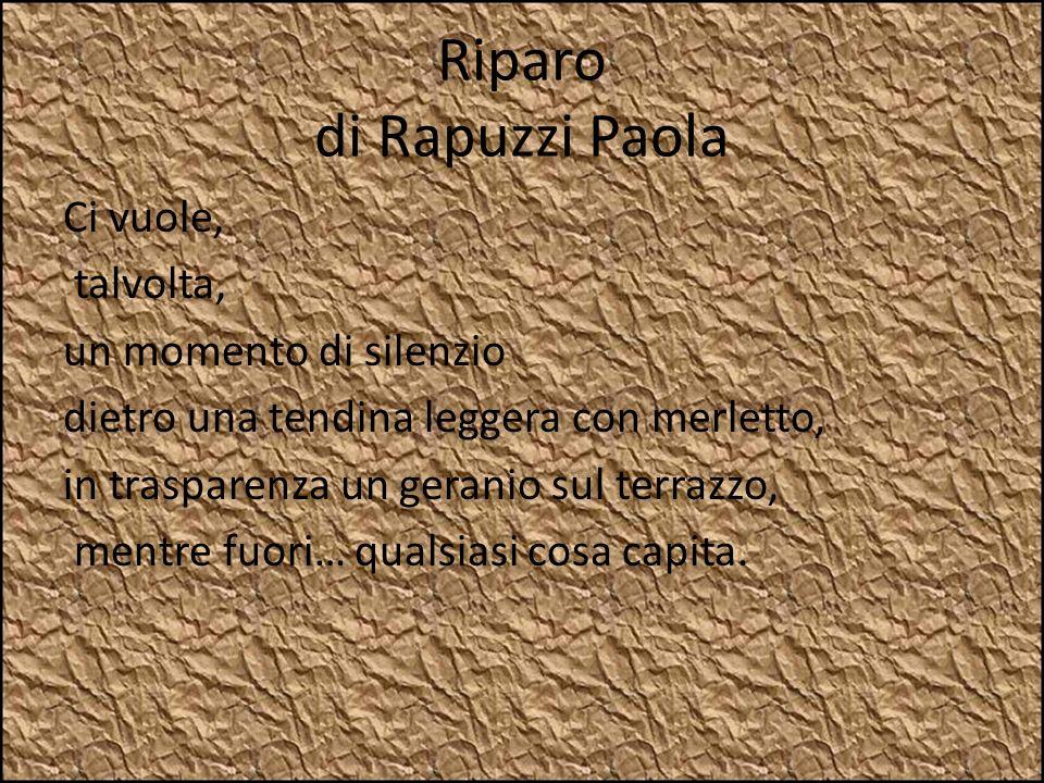 Riparo di Rapuzzi Paola